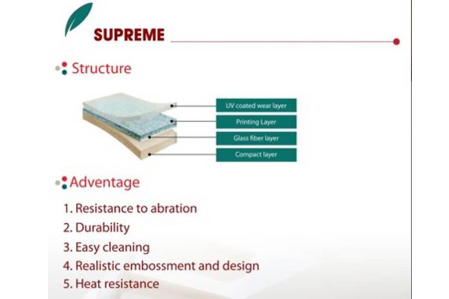 Struktur LG Supreme Vinyl